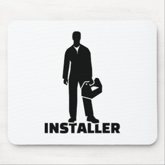 Installer Mouse Pad