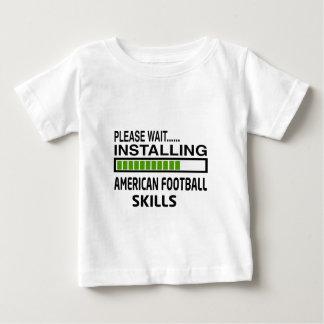 Installing American Football Skills Shirt