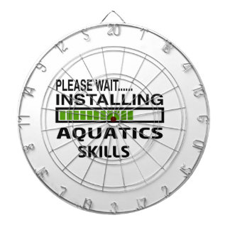 Installing Aquatics Skills Dartboard