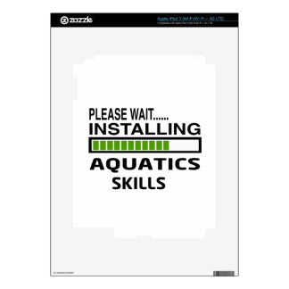 Installing Aquatics Skills iPad 3 Skins