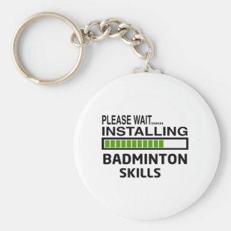 Installing Badminton Skills Keychain