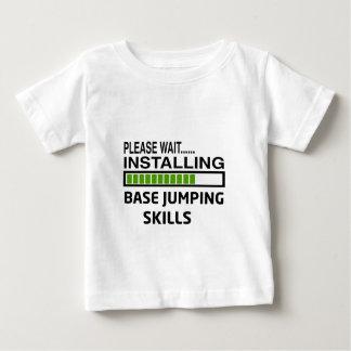 Installing Base Jumping Skills T-shirts