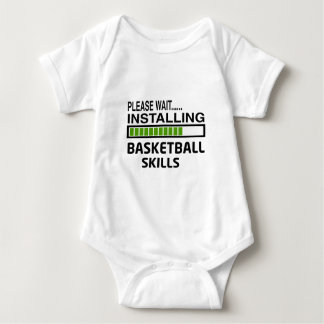 Installing Basketball Skills T Shirts
