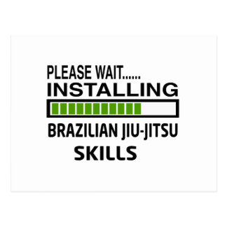 Installing Brazilian Jiu-Jitsu Skills Post Card