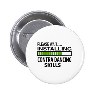 Installing Contra Dance Skills Pinback Button
