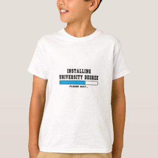 installing degree T-Shirt