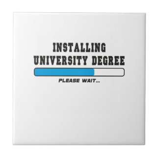 installing degree tile