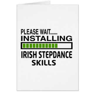 Installing Irish Stepdance Skills Card