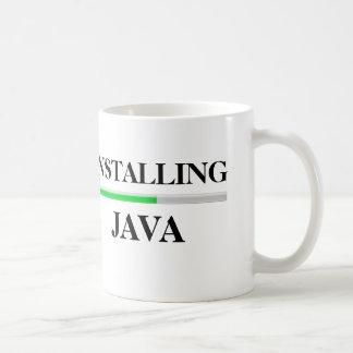 Installing Java Classic White Coffee Mug