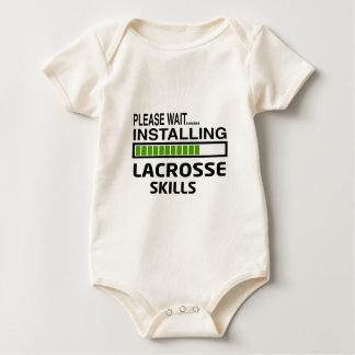 Installing Lacrosse Skills Baby Bodysuits
