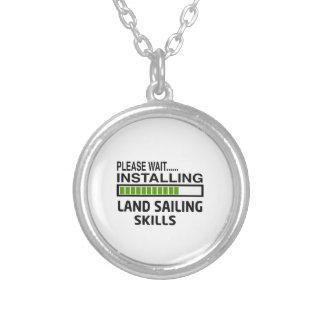 Installing Land Sailing Skills Custom Necklace