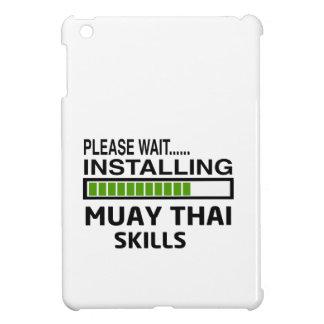 Installing Muay Thai Skills iPad Mini Case