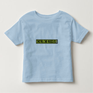Installing muscles workout Zh1sq Toddler T-shirt