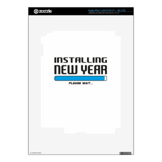 installing new year iPad 3 skin