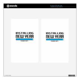 installing new year skins for kindle fire