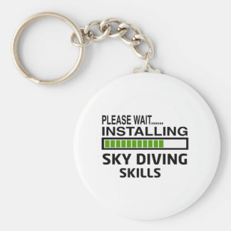 Installing Sky diving Skills Key Chains