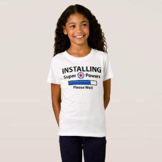 INSTALLING Super Powers T-Shirt