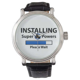 INSTALLING Super Powers Wristwatch