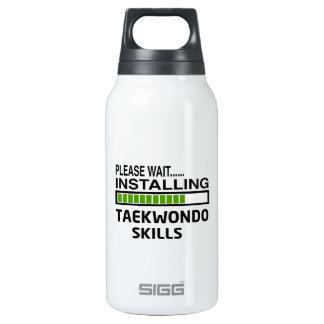 Installing Taekwondo Skills 10 Oz Insulated SIGG Thermos Water Bottle