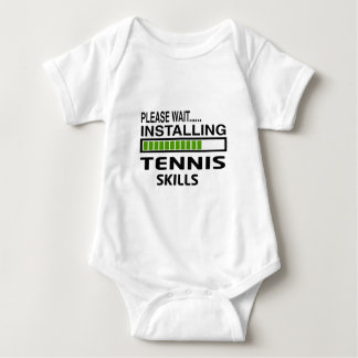 Installing Tennis Skills T-shirt