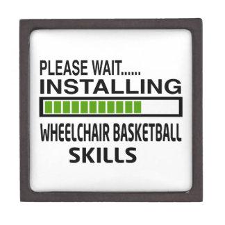Installing Wheelchair Basketball Skills Premium Gift Boxes