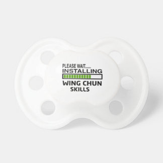 Installing Wing Chun Skills BooginHead Pacifier