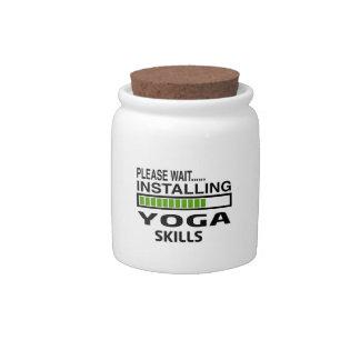 Installing Yoga Skills Candy Jars