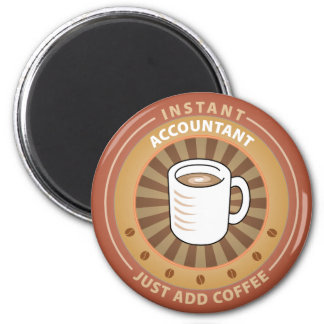 Instant Accountant 2 Inch Round Magnet