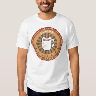 Instant Anime Fan Tee Shirts