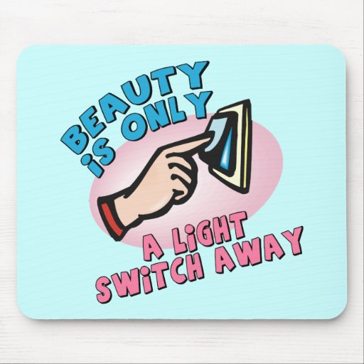 Instant Beauty T-shirts and Gifts For Her Mouse Pad