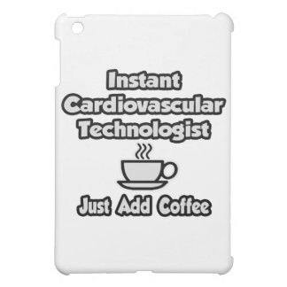 Instant Cardiovascular Tech .. Just Add Coffee iPad Mini Cover