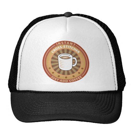 Instant Cross-stitcher Mesh Hat