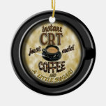 INSTANT CRT ADD COFFEE CHRISTMAS ORNAMENT