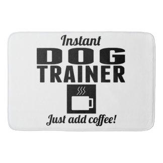 Instant Dog Trainer Just Add Coffee Bath Mats