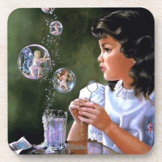 Instant Fairies Drink Coaster