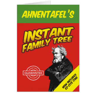 Instant Family Tree Card