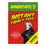 Instant Family Tree Greeting Card