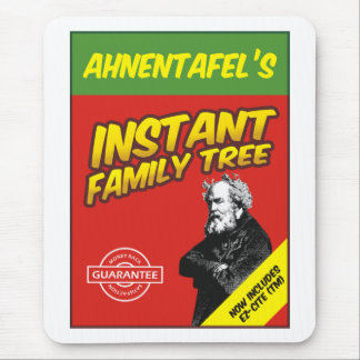 Instant Family Tree Mouse Pad