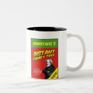 Instant Family Tree Two-Tone Coffee Mug