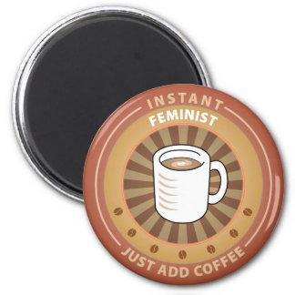 Instant Feminist 2 Inch Round Magnet
