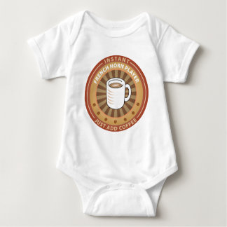 Instant French Horn Player Baby Bodysuit