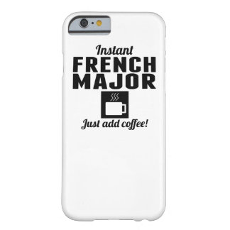Instant French Major Barely There iPhone 6 Case
