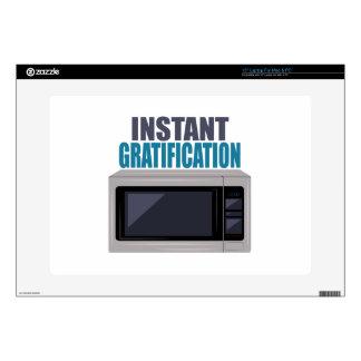 """Instant Gratification 15"""" Laptop Skins"""