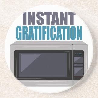 Instant Gratification Drink Coaster