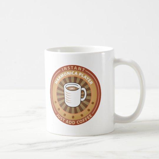 Instant Harmonica Player Coffee Mug