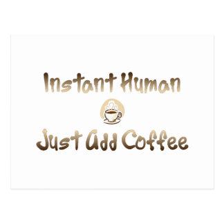 Instant Human Postcard