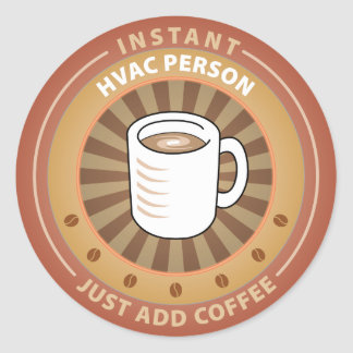Instant HVAC Person Stickers