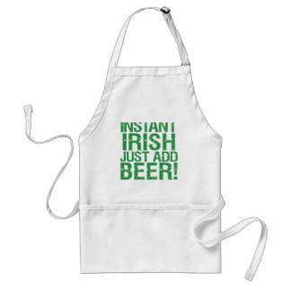 Instant Irish just add beer! Adult Apron