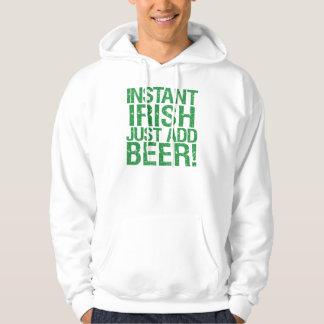 Instant Irish just add beer! Hoody