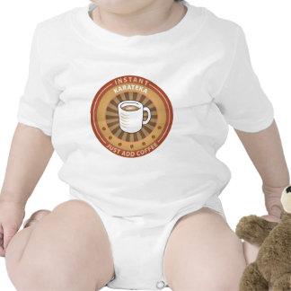 Instant Karateka Baby Bodysuits